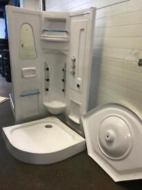 New Shower cubicle body jets