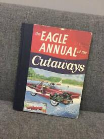 Rare retro vintage style Boys cars boats plane trains Eagle Annual the Cutaways Hab Book 2008 SDHC