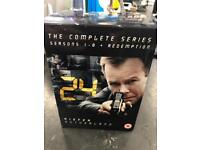 Complete series of 24