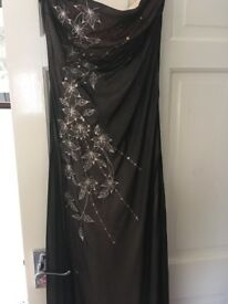 Jane Norman dress. Size 14. Strapless. Collection only please.