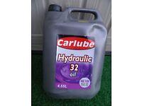 Carlube Hydraulic 32 Oil - 4.55l - SAE 10W ISO32