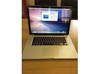 Macbook Pro 15 Mid 2009 500GB harddrive 4GB RAM HD Graphics Fully working