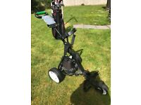 Hill billy electric golf trolly excellent condition