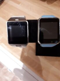 for sale 2 bluetoth smart watches
