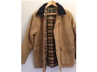 Mens Wax Jacket , Made by P G Field Masters of Weatherware