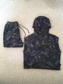 Nike Tech Fleece Camo Tracksuit, size M