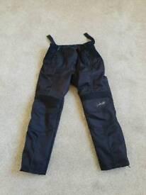 Ladies Frank Thomas Biker trousers