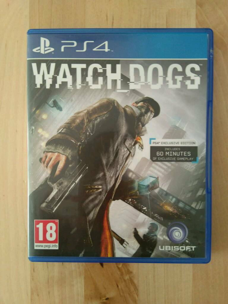 Watch Dogs PS4 Gamein Borough Green, KentGumtree - Watch Dogs PS4 Game