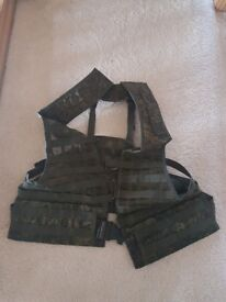 Russian load bearing vest 6sh112