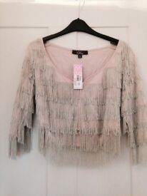 New with tags topshop jacket size 12