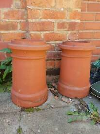 Terracotta chimney potts