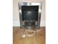 Modern Electric heater fireplace effect blow heater 3 speed options Effecient, Good conditions
