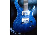 Tokai LR40Q, AAAA+ Quilt Maple Top, Made In Japan 2004, PRS Custom 24