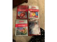 4 x brand new Atari 2600 games