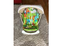 Fisher-Price Rainforest Friends Take Along Swing & Seat