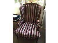 Italian style arm chair