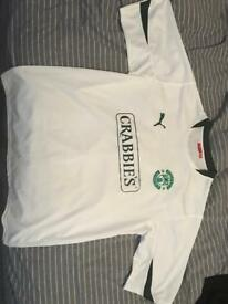 Retro Hibs Away Top XXL
