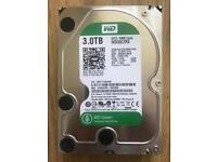 3TB WD Green SATA Hard Drive 3.5 inch