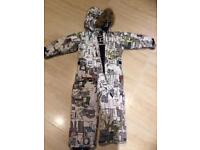 Ski suit for 4-5 years old
