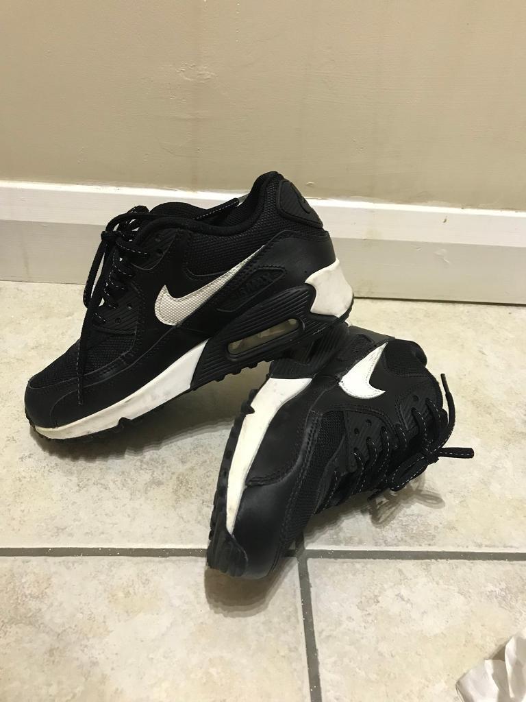 Nike air black uk3