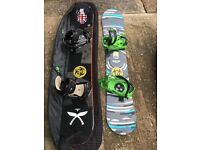 Burton and K2 Snow Boards and Boots