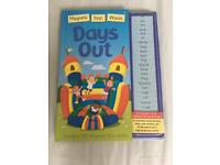 Magnetic first word books