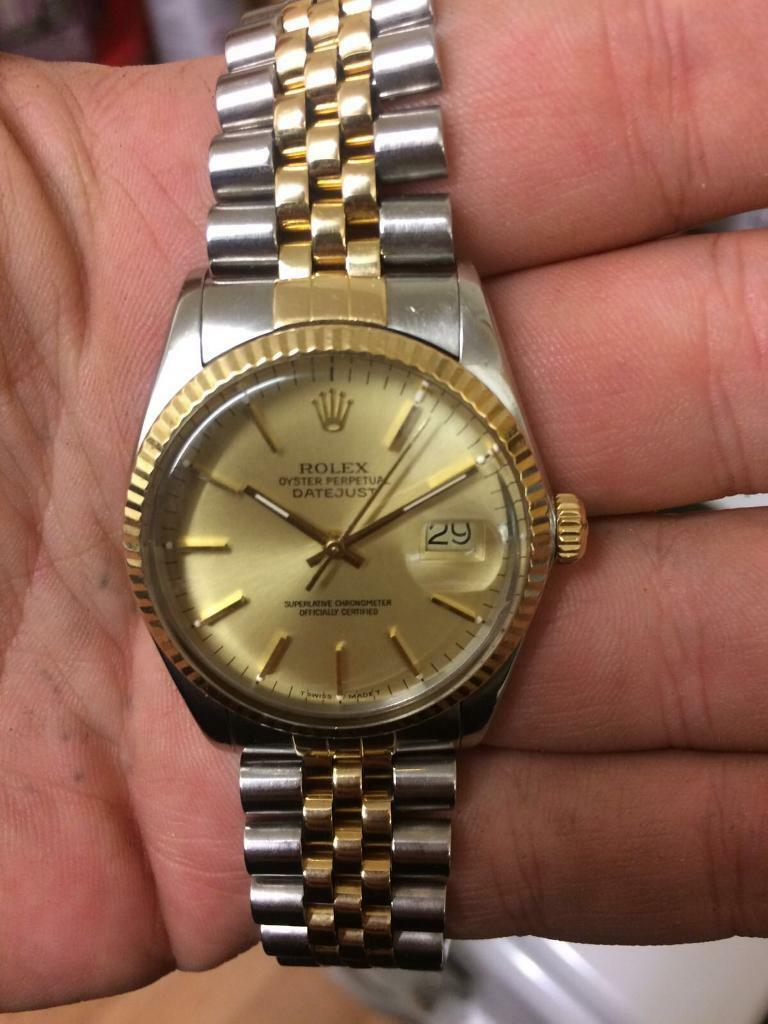 Rolex watch excellent condition