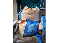 Building sand 2 x grab bags