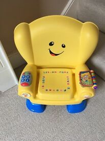 Fisher Price Laugh and Learn stages Chair