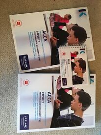ACCA Kaplan F5 Performance Management Books- Exam Kit, Study Text and Pocket Notes