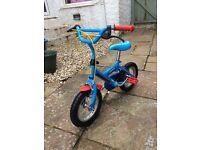 Boys 12'Blue Halfords Thomas Bike