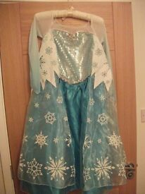 Disney's Elsa (Frozen) dressing up dress - age 9-10