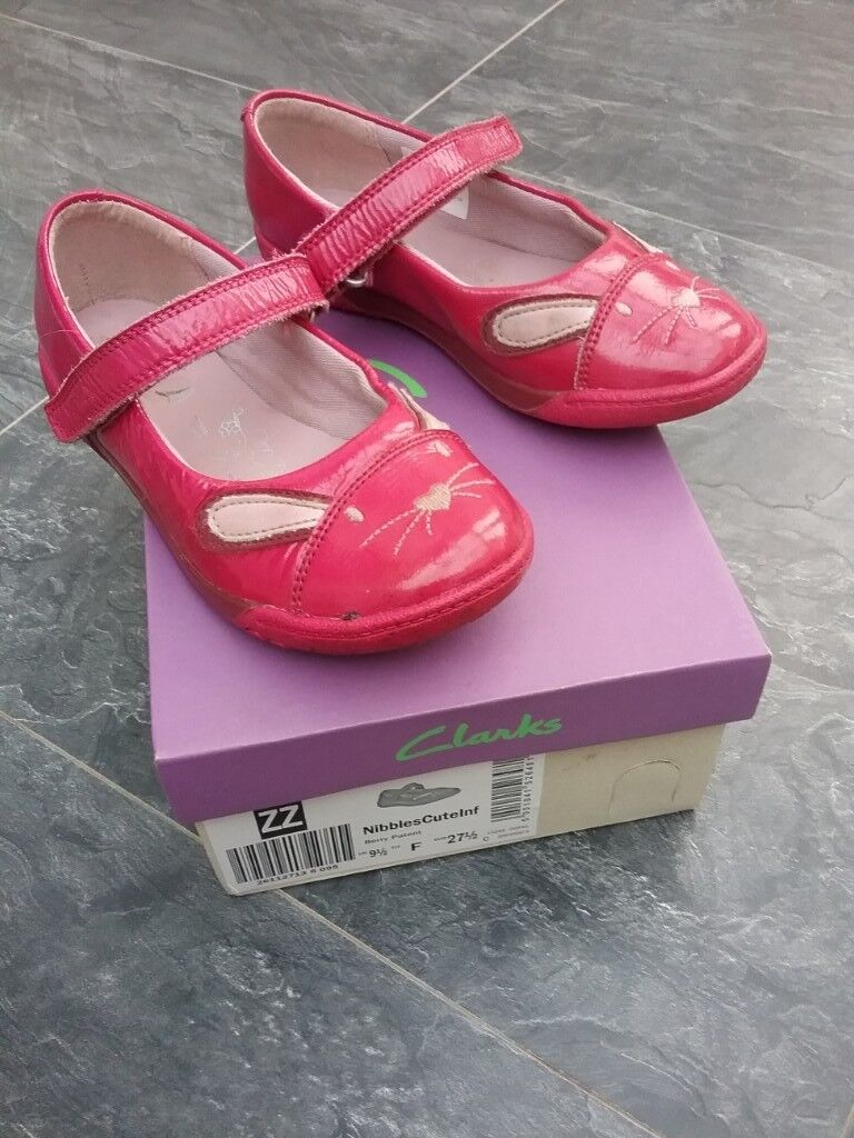 82c9ed0a4a085 Clarks girls pink bunny shoes, size infant 9.5 F   in Stoke-on-Trent ...