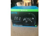 Logitech G920 Racing Wheel for Xbox One and PC