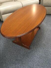 Gola downton oval coffee table