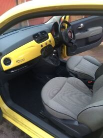 FIAT 500 – 58 Plate, 42990miles - YELLOW WITH PANORAMIC ROOF