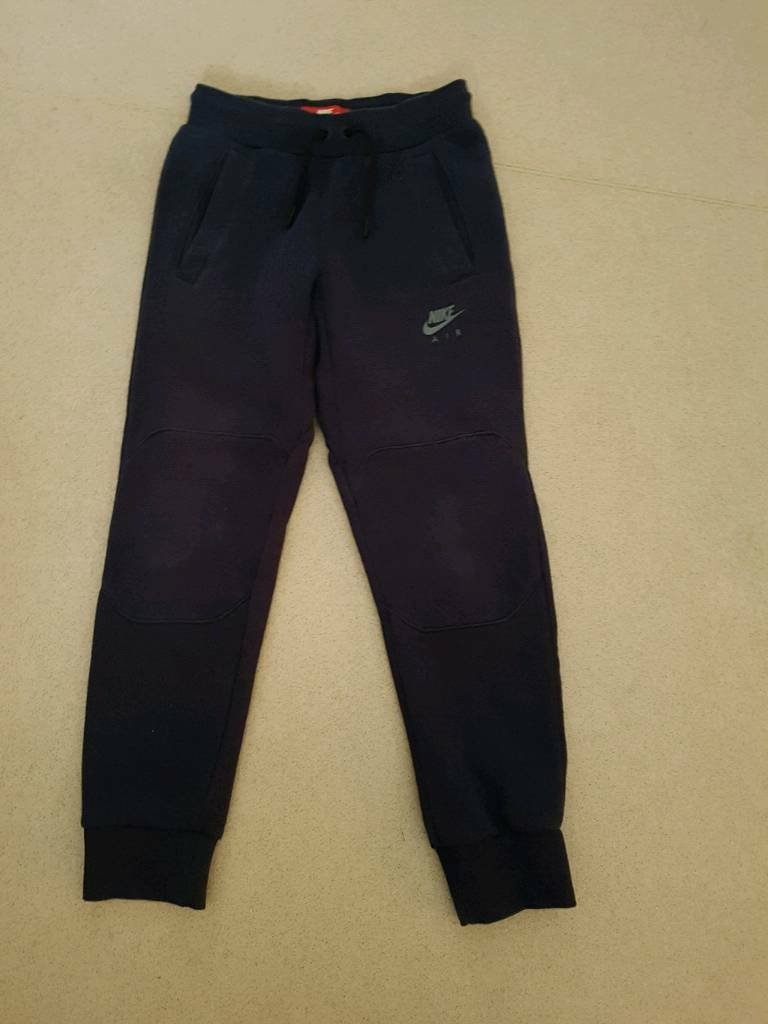 ac4b10e9a2 JD Sports Boys Navy Fleece Nike Air Max Jogging Bottoms Age 8-10yrs