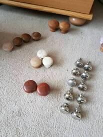 Various drawer and door handles