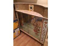 Vintage 1960s cocktail cabinet