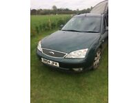 *MUST GO BY MONDAY* Ford mondeo ghia x full leather towbar