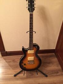 Left Handed Tanglewood Electric Guitar and Peavey Amp Bundle