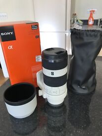Sony 70-200mm F4 FE lens