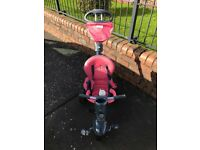 Girls coral trike for sale