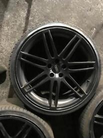 """Audi s5 alloys 5x112 20"""""""