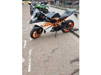 KTM RC125 MOTORBIKE FOR SALE!!!