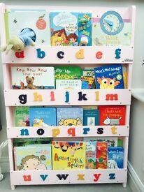 Children ABC Tidy Bookcase