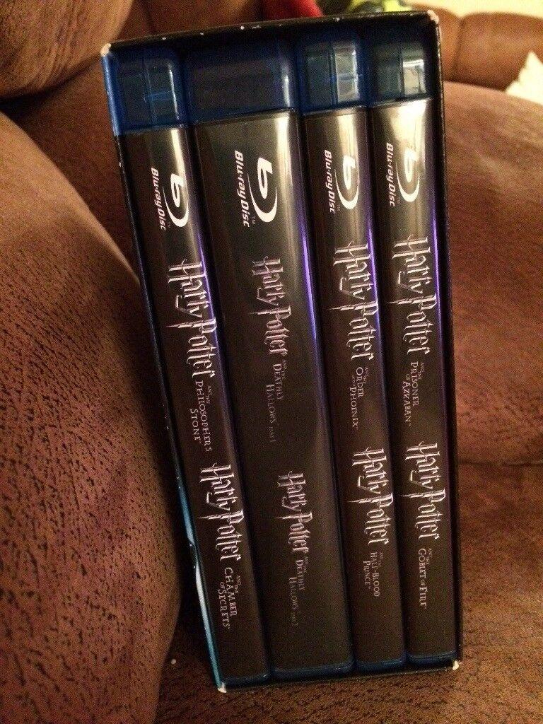 Harry Potter Bly-Ray Set