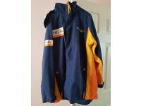 F1 RENAULT ING JACKET SIZE XL WITH HOOD