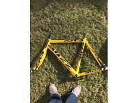Fully carbon fibre bike frame. Ideal fixed gear / road bike project.