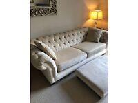 2x Chesterfield sofas